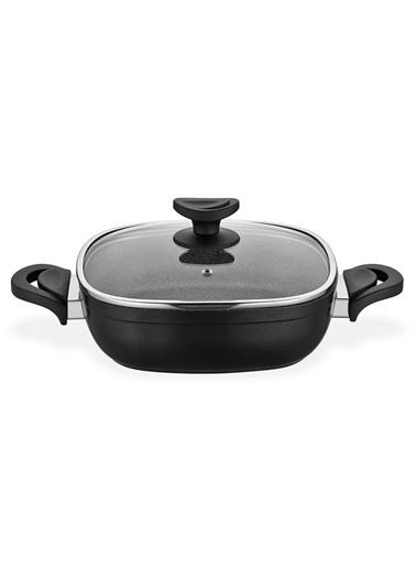 Schafer SCHAFER-GAST26KARNIYARIK Schafer Gastronomie 26 Cm Karnıyarık Tencere  Siyah